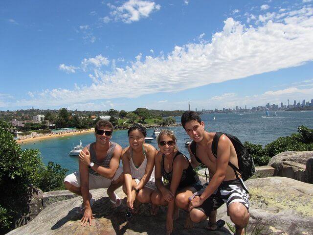 天気の良いオーストラリア
