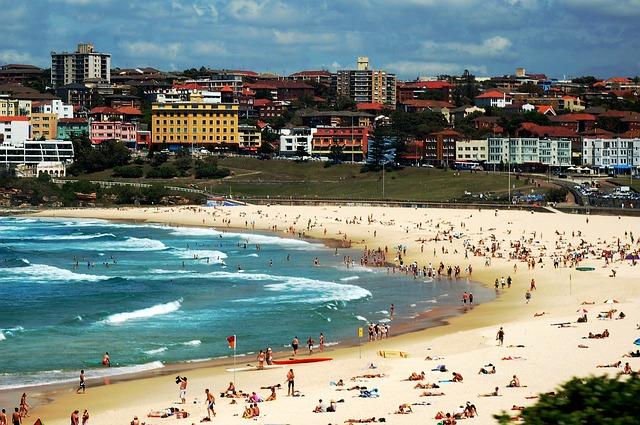 bondi beach 587813 640 - シドニー留学のおすすめ語学学校を徹底比較!費用と特徴まとめ