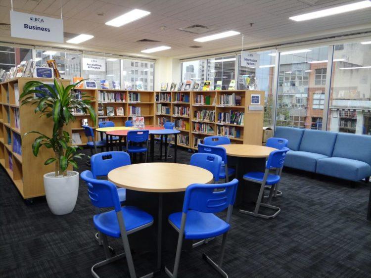 Melbourne Studnet Library - エルシス・メルボルン校